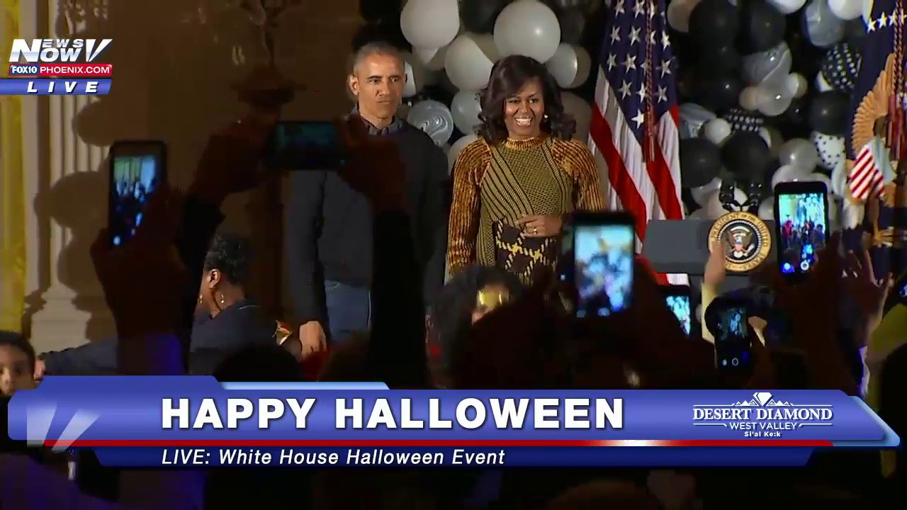 FNN: MUST WATCH : Barack Obama and Michelle Obama Do Thriller ...