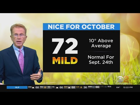 New York Weather: CBS2 Forecast At Noon