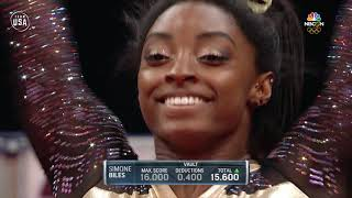 Simone Biles' Flawless Vault Routine | Summer Champions Series