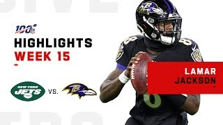 Lamar Jackson Clinches AFC North w/ Record-Breaking Performance | NFL 2019 Highlights