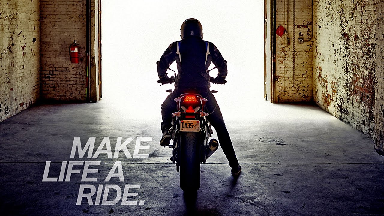 Building A Life : Bmw motorrad make life a ride youtube
