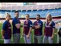 Nike Athletes & Barça Challenge