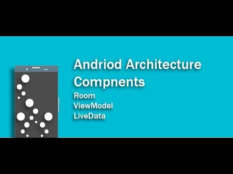 Android Architecture Components -  Lifecycles, LiveData, ViewModel y Room