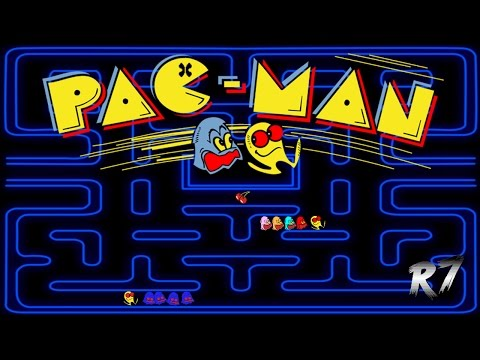 Pac-Man | 1980 | Arcade | Gameplay | HD 720p 60FPS