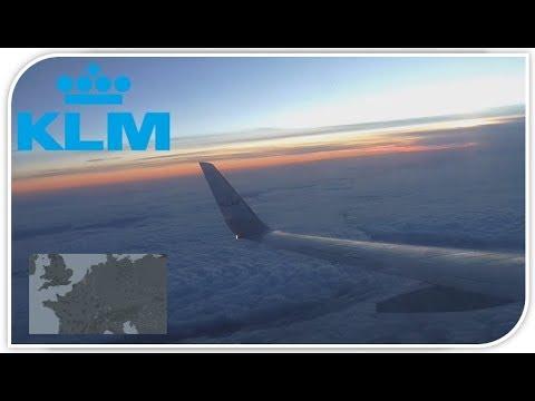 [TIMELAPSE] WITH MAP! Geneva - Amsterdam I KLM Boeing 737-700
