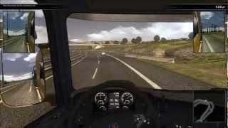 Scania truck simulator gameplay 1