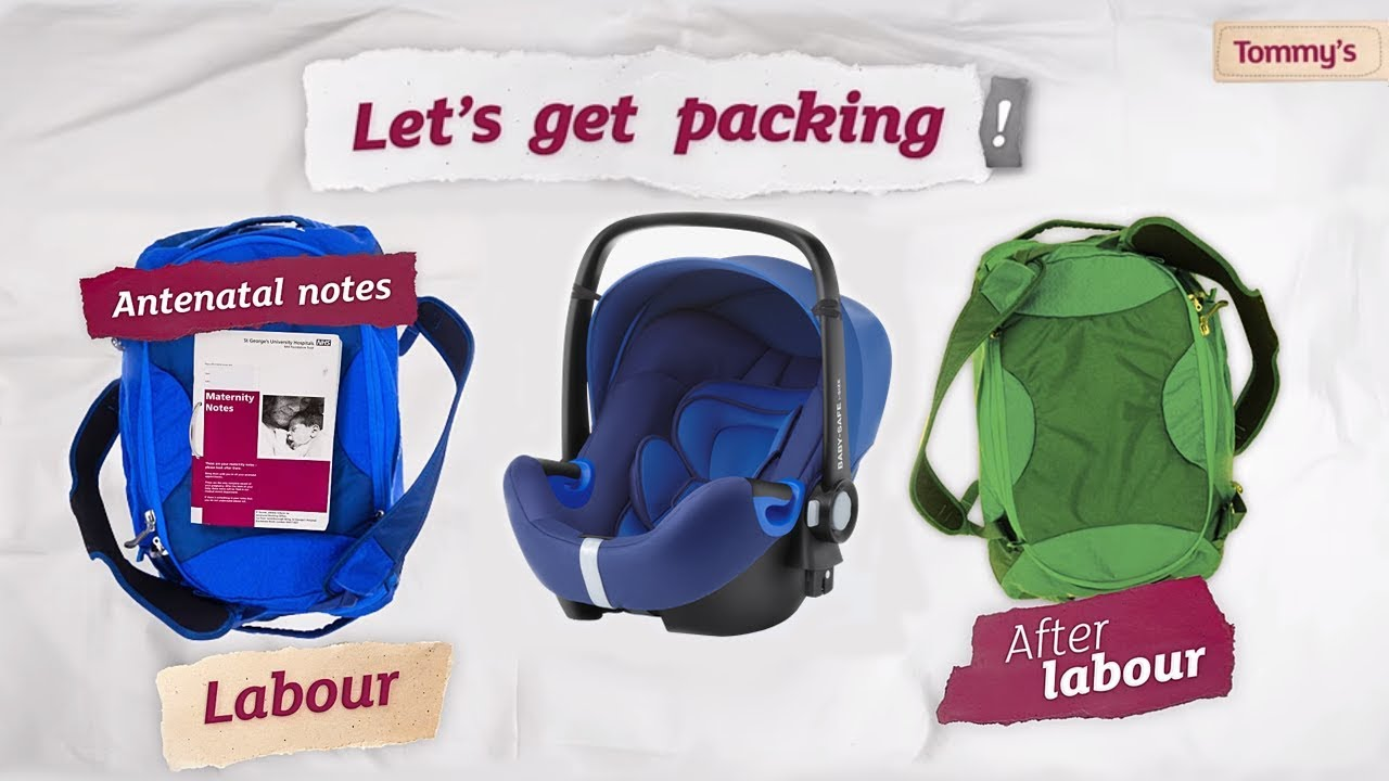Packing your bag for labour and birth | Tommy's