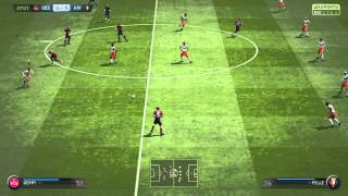 FIFA 15 GOAL IN FIVE TOUCHES FROM A GOAL KICK