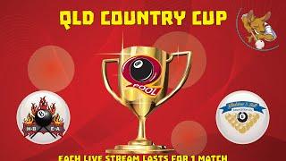 2016 Qld Cup - Country 8 Ball Teams - Hervey Bay v Gladstone