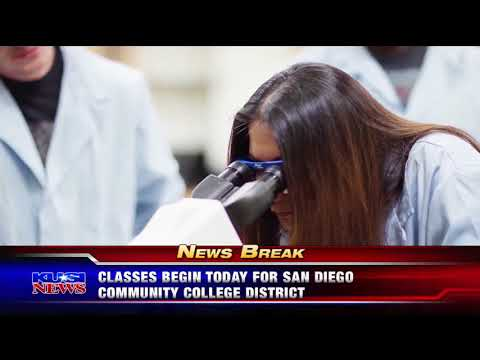 KUSI-SD: Classes Begin Today for San Diego Community College District