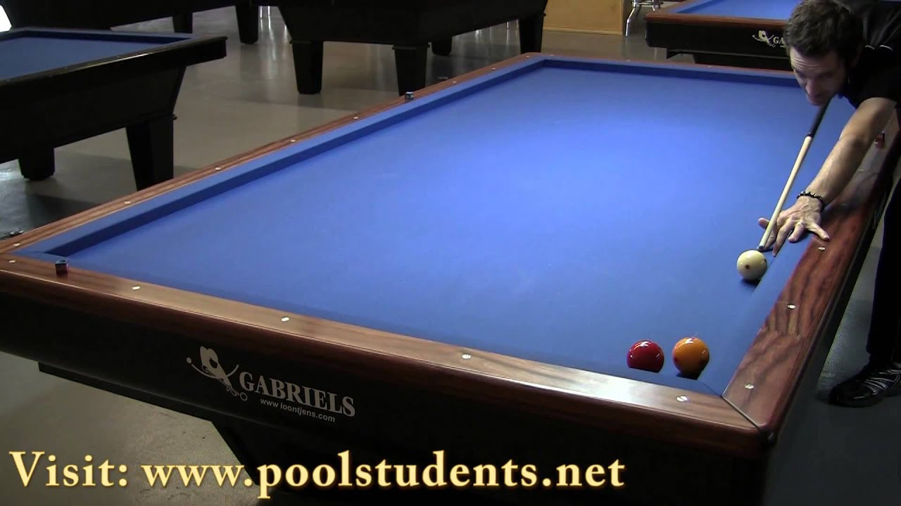 How To Play Object Ball Carom Billiards YouTube - Pool table with no holes