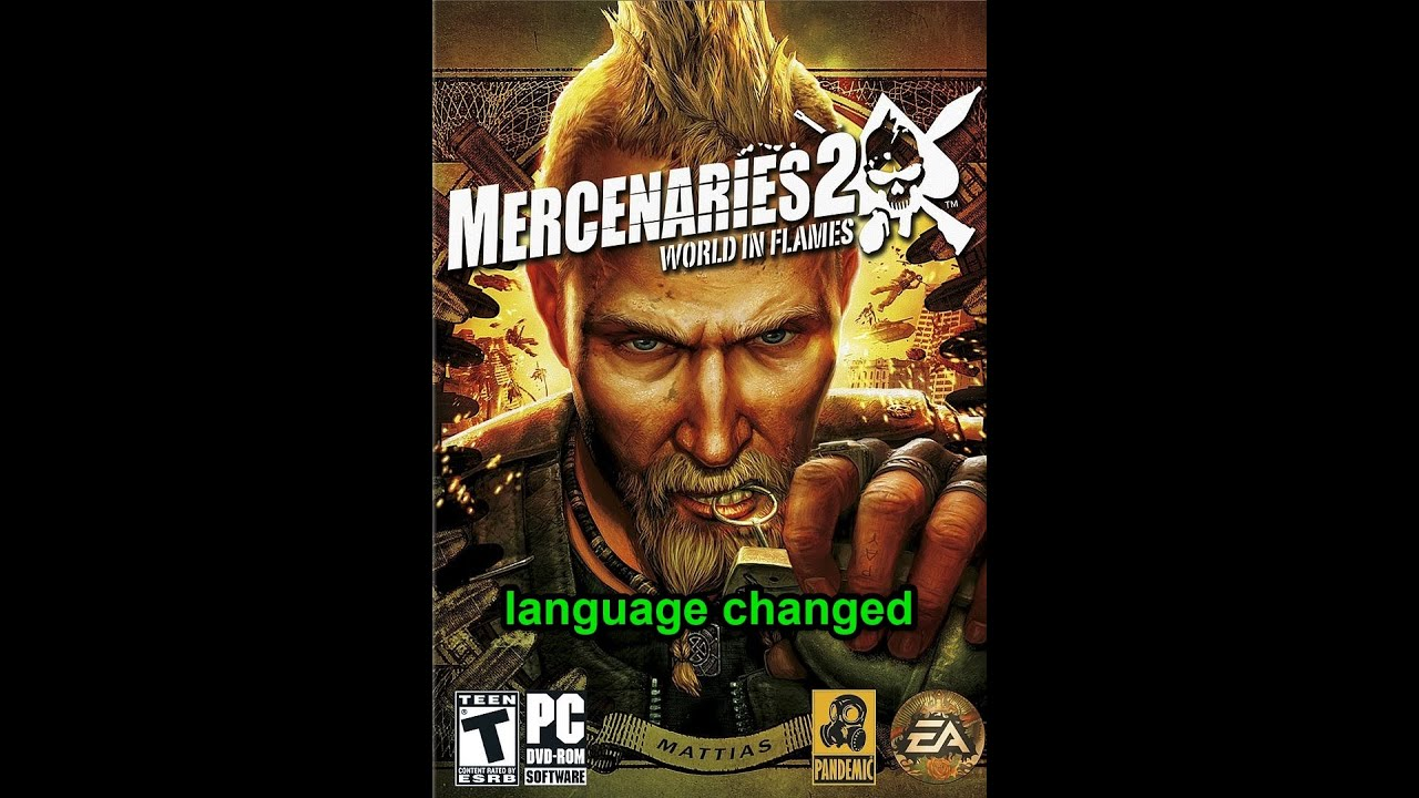 How to change the language of a game : ps2