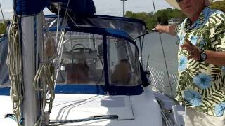 How to sail a sailboat without a motor?