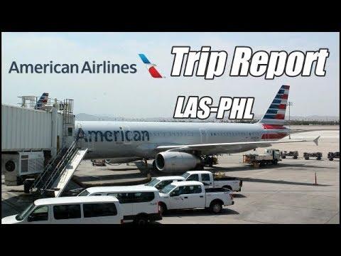 TRIP REPORT L American Airlines L Airbus A321-232 L Las Vegas (LAS) To Philadelphia (PHL) L Economy