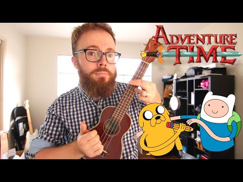 Time Adventure (Rebecca Sugar Adventure Time) Ukulele Tutorial
