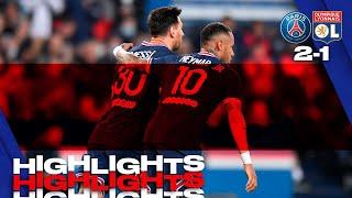 HIGHLIGHTS | Paris Saint-Gemain 2-1 Olympique Lyonnais