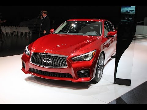 Infiniti Q50 at the NAIAS 2016 Detroit (North American International Auto Show)