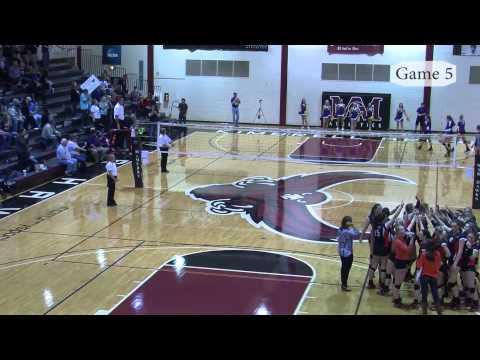 Granbury Lady Pirate Volleyball Playoffs vs.  Aledo