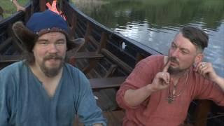 Трое в лодке, не считая собаки. Поход на ладье.