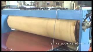 three layer PC ABS trolley luggage sheet machine