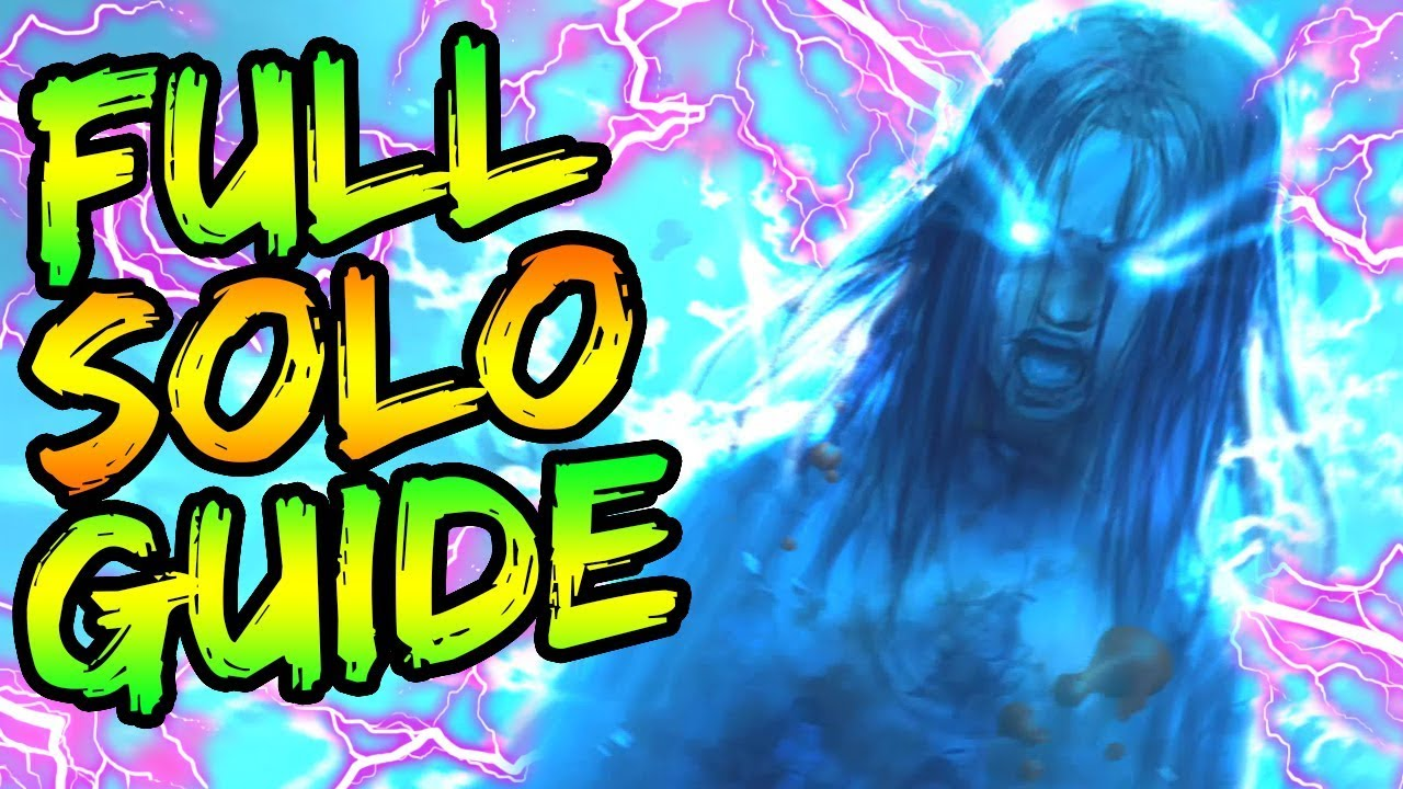 """Download FULL """"ALPHA OMEGA"""" SOLO EASTER EGG GUIDE! // ALL STEPS & BOSS FIGHT TUTORIAL! // BLACK OPS 4 ZOMBIES"""
