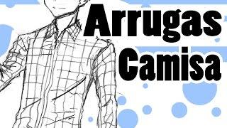 Como dibujar Manga | Ropa: Arrugas Camisa