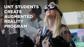 UNT students create augmented reality program for space helmets