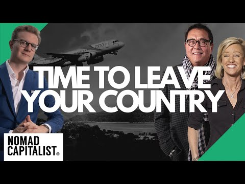 Is it Time to Leave the Country? Interview with Robert Kiyosaki
