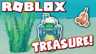 SCUBA DIVING FOR RARE ROBLOX TREASURE!!