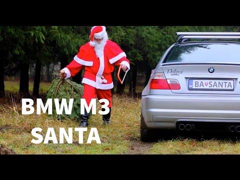 BMW M3 Santa