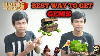 The Best Way to Get Free Gems in Clash of Clans | Tamil Gamers