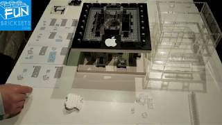 Lego Apple Store NY time-lapse build (Sembo block SD6900)