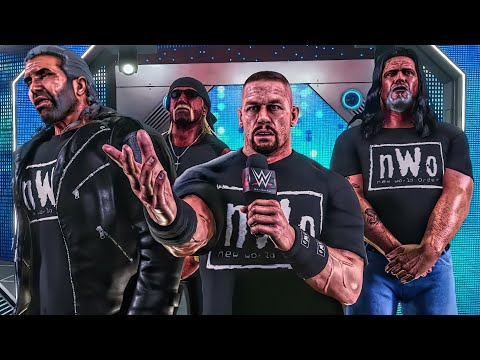 John Cena Expands The nWo & Adds 4th Member (WWE 2K Story)