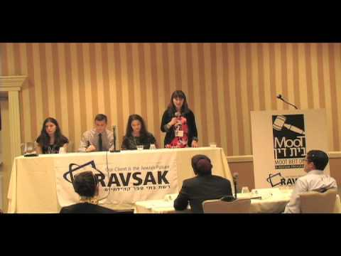 Moot Beit Din 2016: Kagan Division - Milken Community Schools
