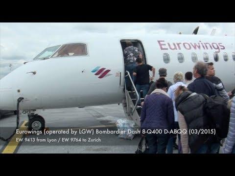Eurowings Dash 8-Q400 D-ABQQ EW 9764 Dusseldorf-Zurich Trip Report