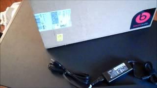 hp dv6z 7000 entertainment laptop unboxing