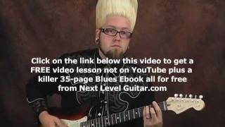 Surf guitar lesson learn how to play fast picking riffs surfs up with tabs