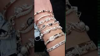 ФОП Заруцкий. Ювелирные изделия из серебра с золотом. Обзор браслетов.