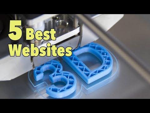 5 Best 3D Printing Websites for Downloading Designs