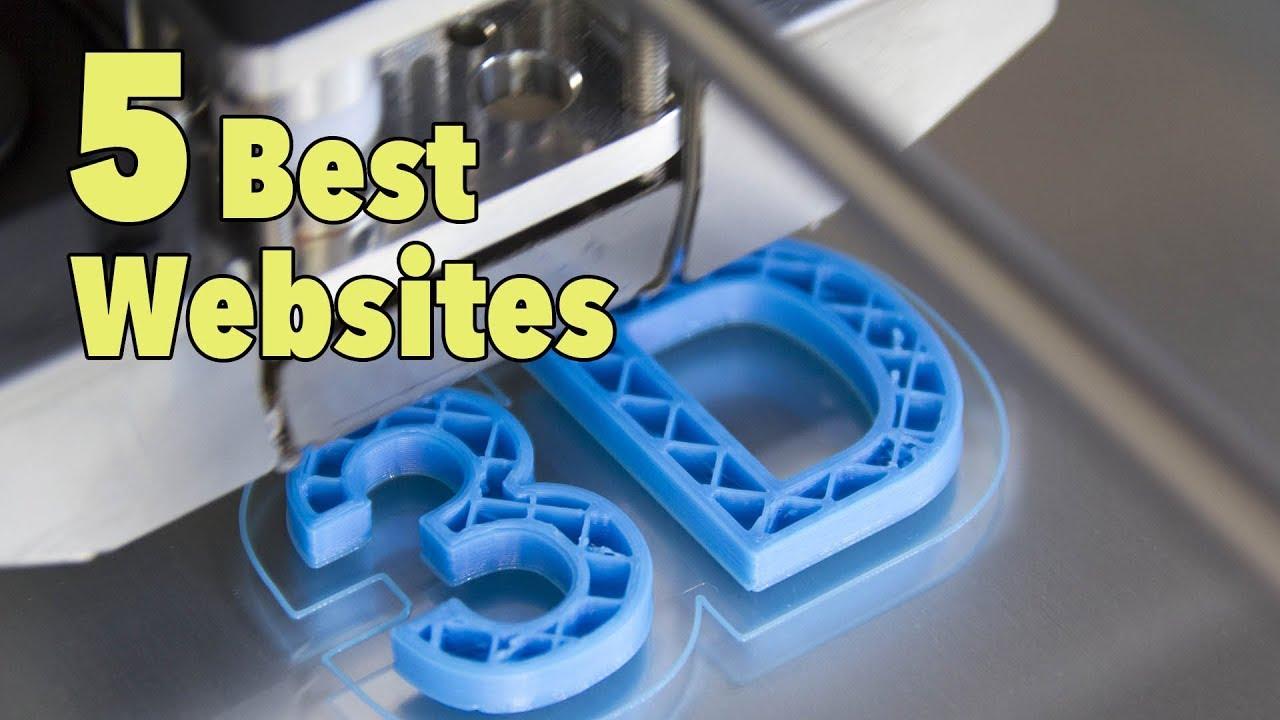 5 best 3d printing websites for downloading designs youtube for Design online
