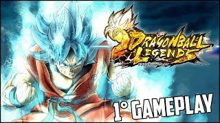 Dragon Ball Legends - Primeira gameplay