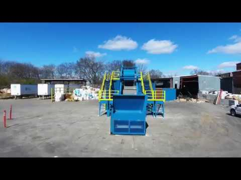 Located Anywhere Modular Commercial Dry Waste System