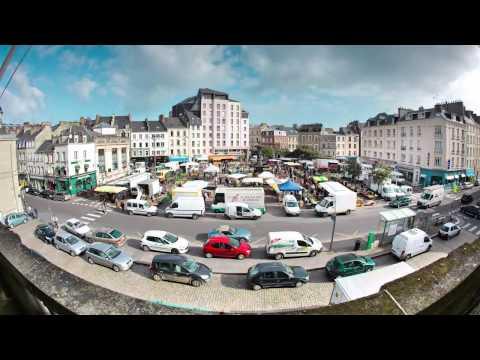 Time Lapse Marché de Cherbourg-Octeville