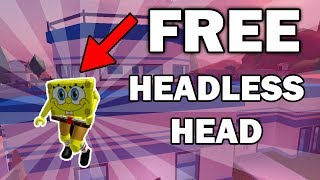 HOW TO GET FREE HEADLESS HEAD ON ROBLOX! *WORKING!* (2018)