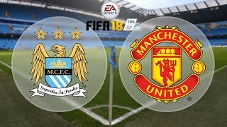 Fifa 18 gameplay: Manchester City vs Manchester United