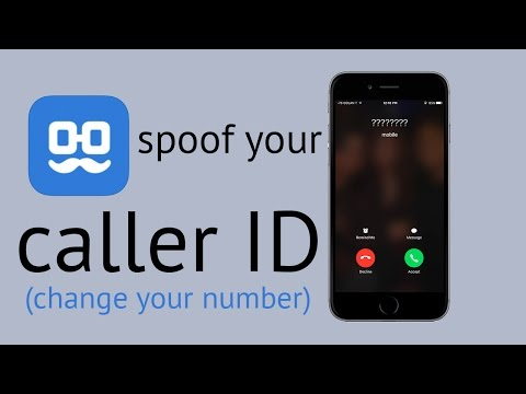 How To Spoof Your Caller ID!!! Caller ID Number Changer (IOS && Android)
