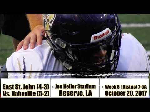 Hahnville 27, East St. John 0 (Week 8 TDs & Turnovers) - Pooka Williams shines again
