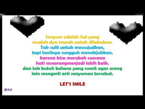 Repeat Kata Bijak Tentang Senyum Tersenyum By Redjeki