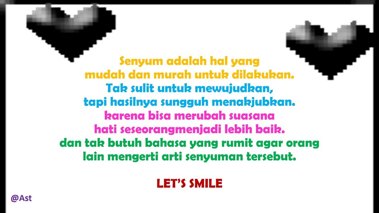 Kata Bijak Tentang Senyum Tersenyum Youtube