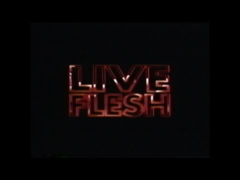 LIVE FLESH MOVIE  VHS 1997